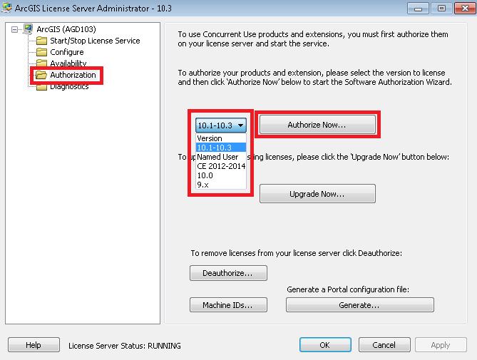 ArcGIS for Desktop Concurrent Use, Online Authorization