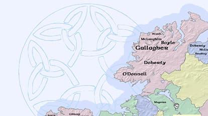 Irish Surnames Map | Maps We Love - Esri UK & Ireland
