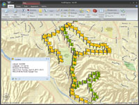 ArcGIS Explorer Desktop now has integrated GPS support.