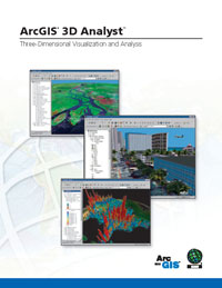ArcGIS 3D Analyst brochure