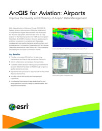 ArcGIS for Aviation: Airports Flier