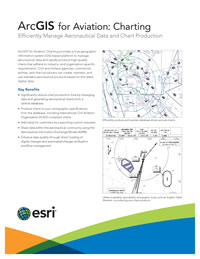 ArcGIS for Aviation: Charting Flier
