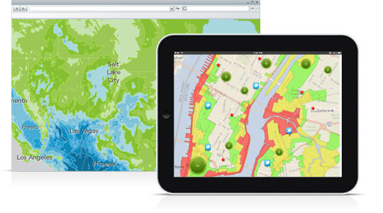 Provide Access to Your GIS Work Using Your Local Network or the Cloud
