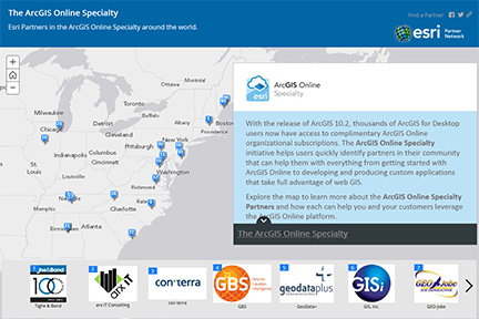 The ArcGIS Online Specialty