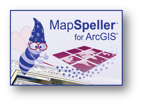 MapSpeller for ArcGIS logo
